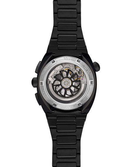 Air Defender Chronograph Stainless Steel Watch, Black