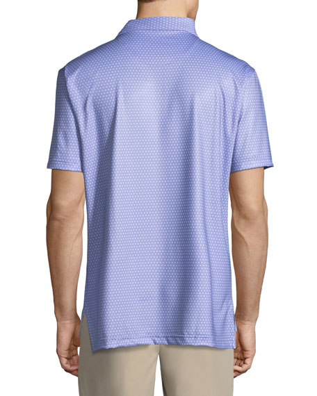 Lassiter Printed Polo Shirt
