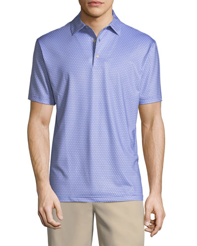 Lassiter Printed Polo Shirt