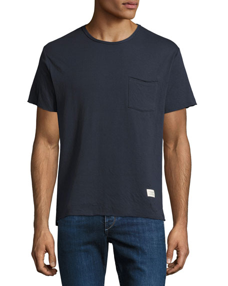 Rag & Bone Double-Knit Cotton T-Shirt