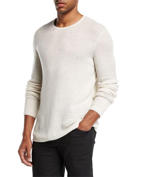 Rag & Bone Gregory Waffle-Knit Thermal Shirt