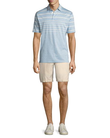 Seaside Cotton-Blend Shorts