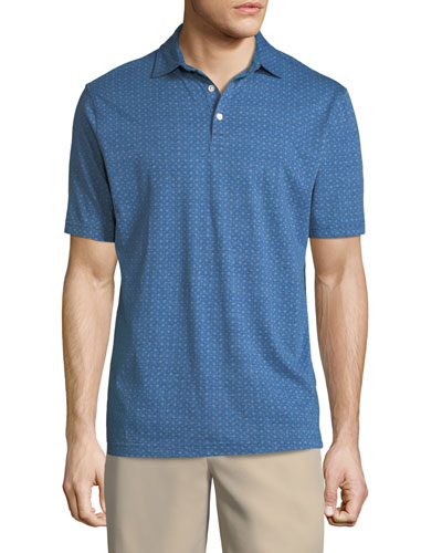 Crown Soft Paisley Polo Shirt