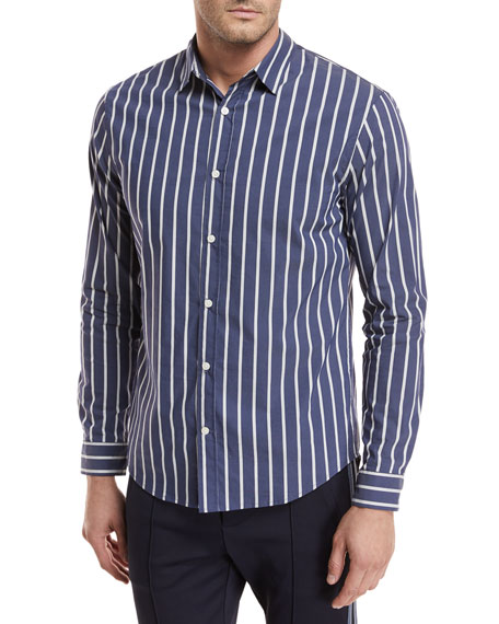 Column Striped Sport Shirt