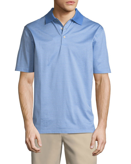 Classic Stripe NanoLuxe Polo Shirt
