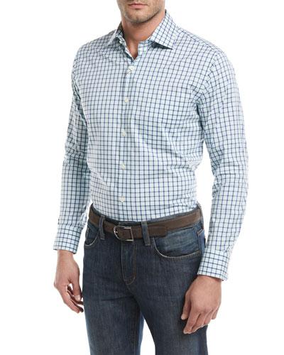 Crown Comfort Trinidad Check Sport Shirt