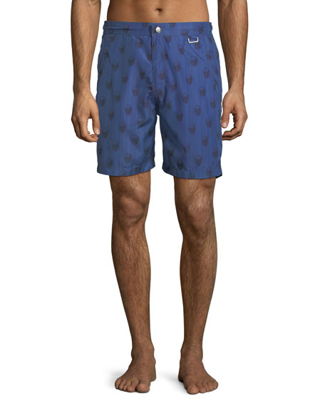 Peter Millar Black Jacks Bay Swim Trunks