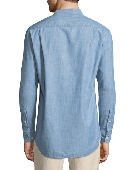 Summer Chambray Denim Shirt