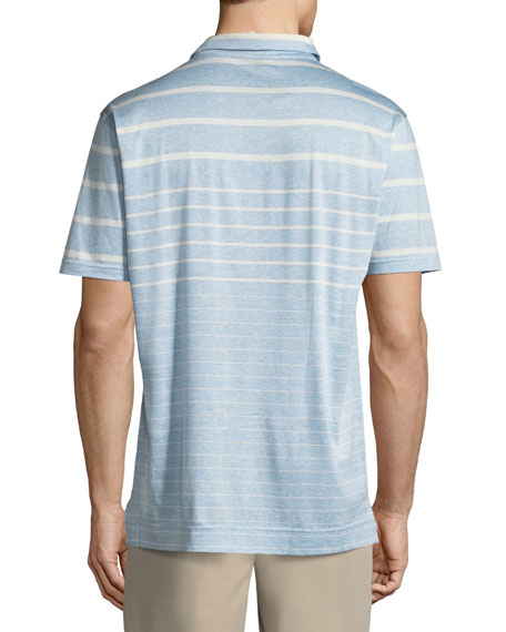 Summer Swells Striped Polo Shirt