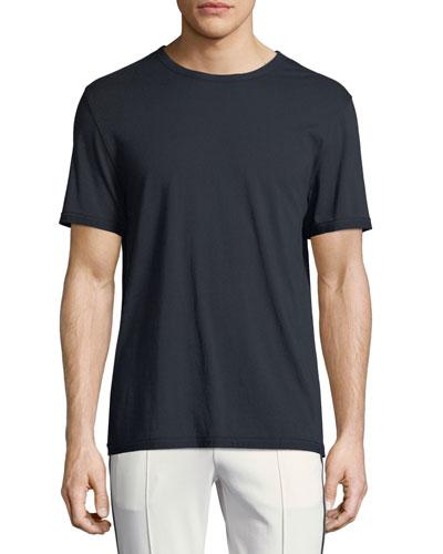 Reverse-Hem Jersey T-Shirt