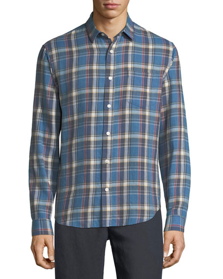 Vince Multi-Plaid Sport Shirt and Matching Items