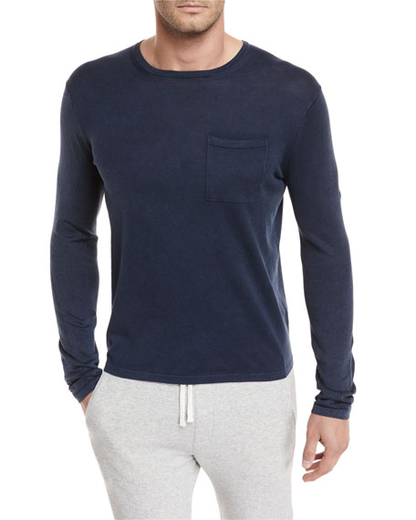 Vince Chest-Pocket Long-Sleeve T-Shirt