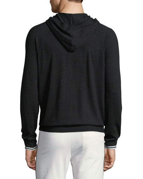 Wool/Cashmere Pullover Hoodie