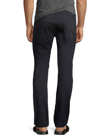 Skinny Five-Pocket Twill Pants