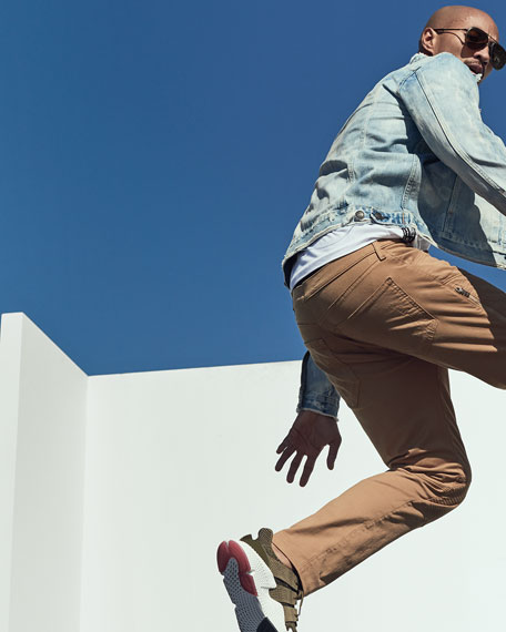 Rocco Moto Skinny Jeans