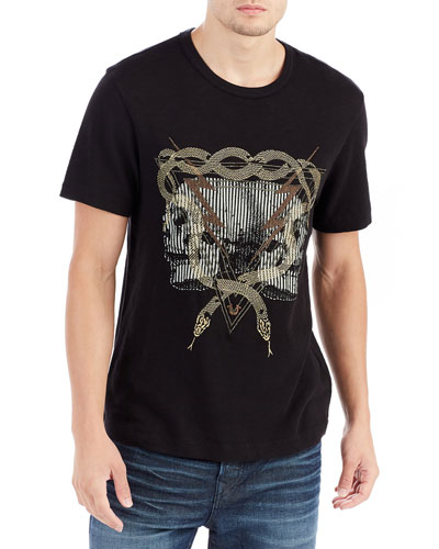 Twin Bolts Graphic T-Shirt