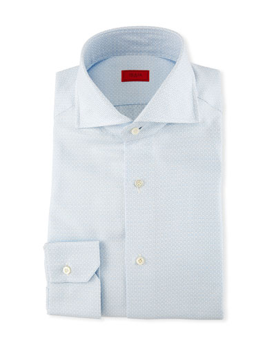 Textured Jacquard Dress Shirt