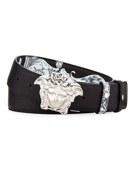 Reversible Medusa-Buckle Belt