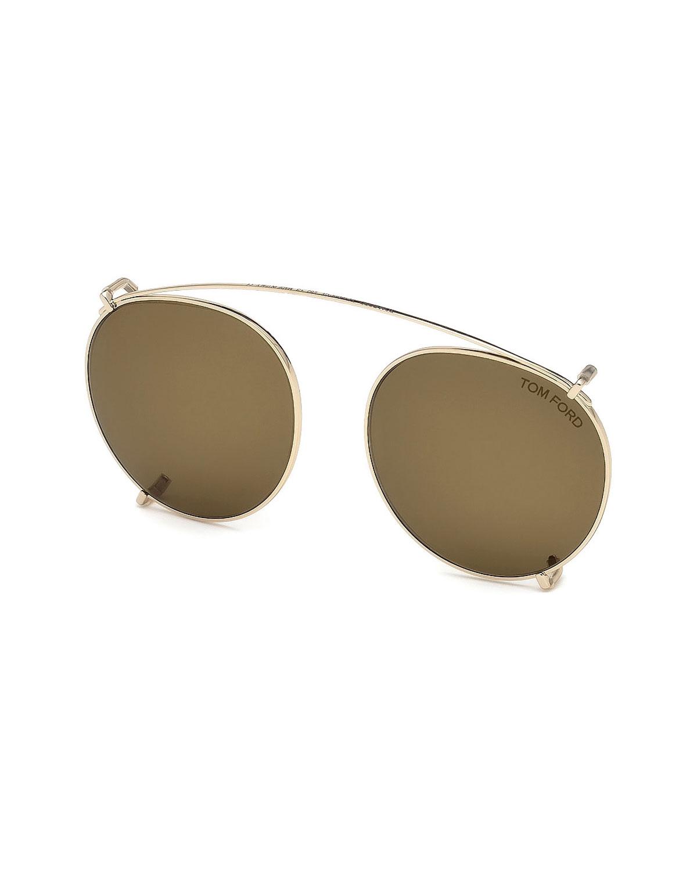 c9c474c6b84f TOM FORD Clip-On Sunglass Lenses