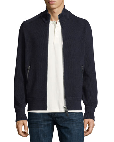 Ribbed Extrafine Turtleneck Sweater