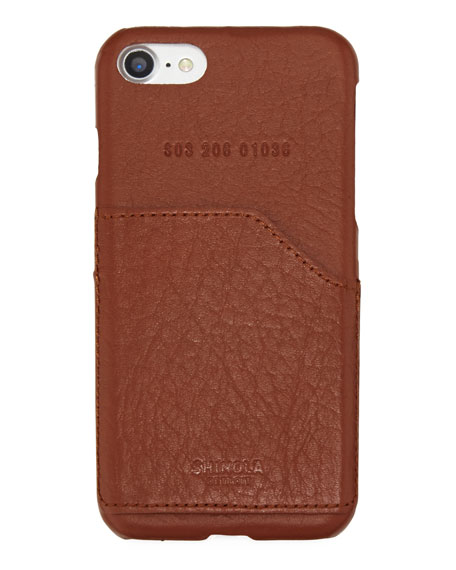 Men's Leather-Wrapped iPhone® 7 Case