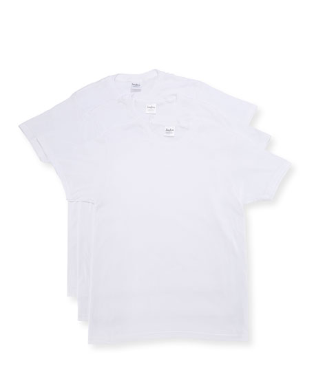 3-Pack Cotton Crewneck T-Shirt