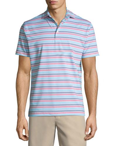 Blount Stripe Jersey Polo Shirt
