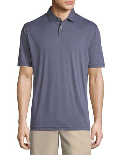 Featherweight Melange Polo Shirt