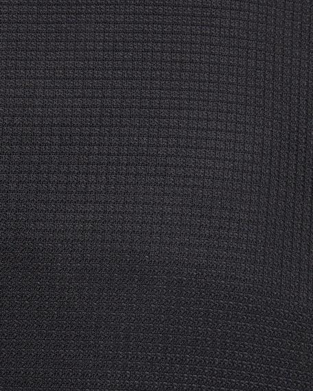 Textured Wool-Silk Blazer