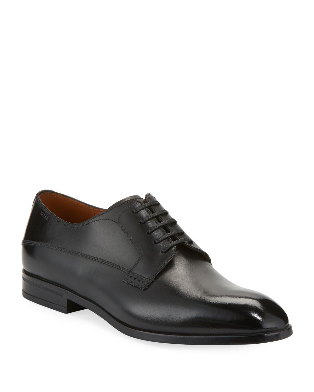 Bally Lantel Classic Leather Leather Classic Derby Shoe eb18e7