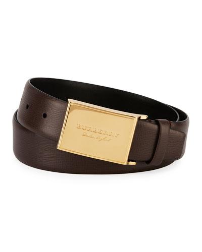 George Honey Leather Belt