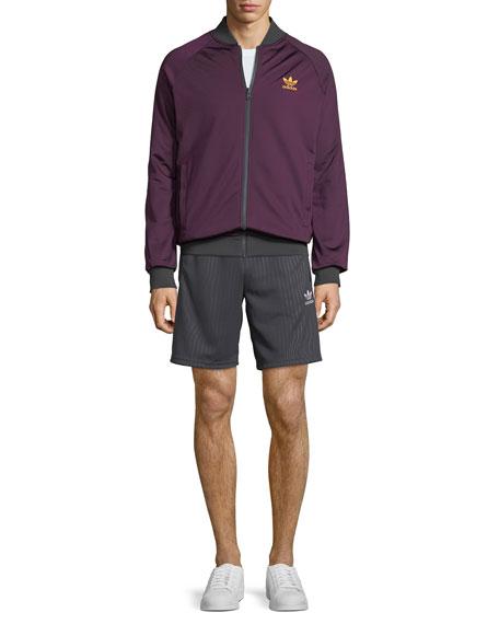 Men's Pinstripe Active Shorts
