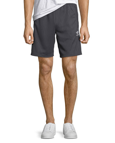 Men's Pinstripe Active Shorts
