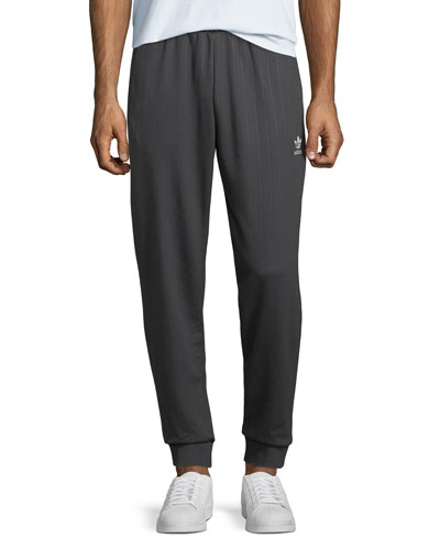 Men's Pinstriped Track Pants