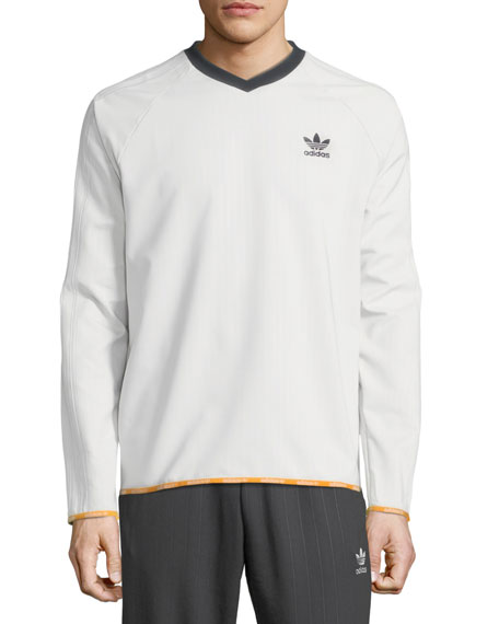 Men's Pinstripe Crewneck T-Shirt