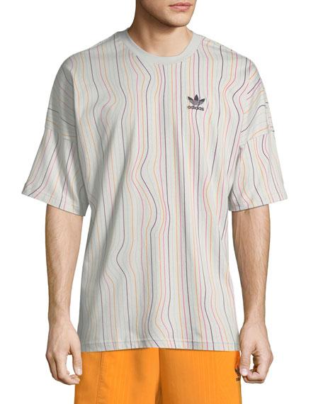 Men's Warped Stripes T-Shirt