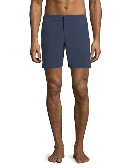 Derek Rose Aruba Modern-Fit Swim Shorts