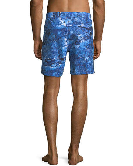 Maui Modern-Fit Swim Trunks