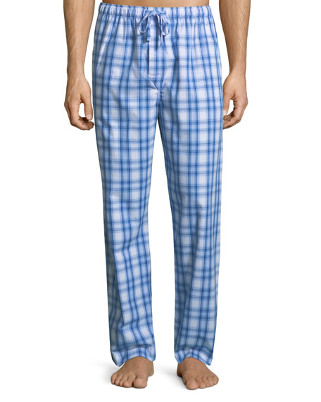 Ranga 30 Plaid Cotton Lounge Pants