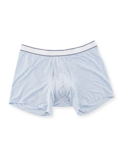 Ethan Stretch Jersey Trunk Boxer Briefs (Longer Leg)
