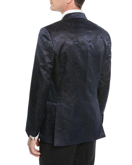 Men's Floral Jacquard Dinner Jacket