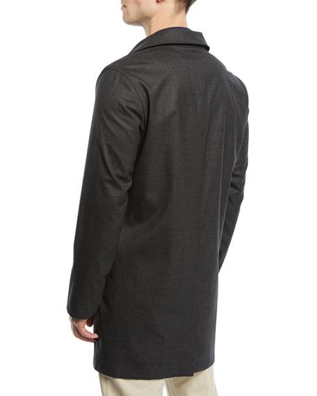 Waterfall Reversible Raincoat