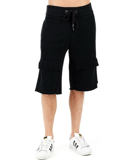 Embossed Cargo Shorts