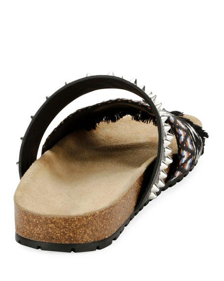 Spike Slide Sandal