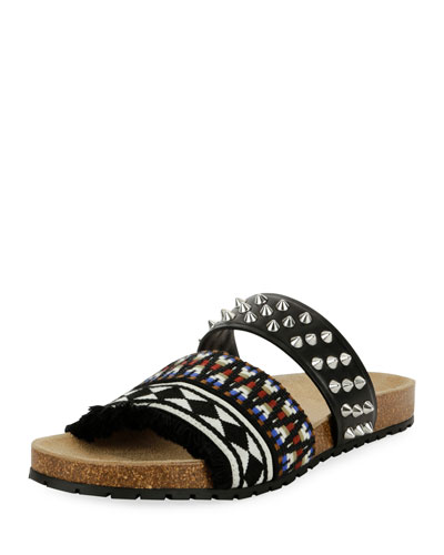 Spike Slide Sandal