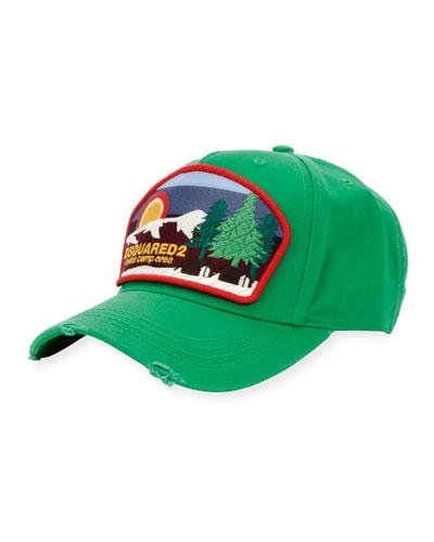 aba243d426d Camp Patch-Front Baseball Cap