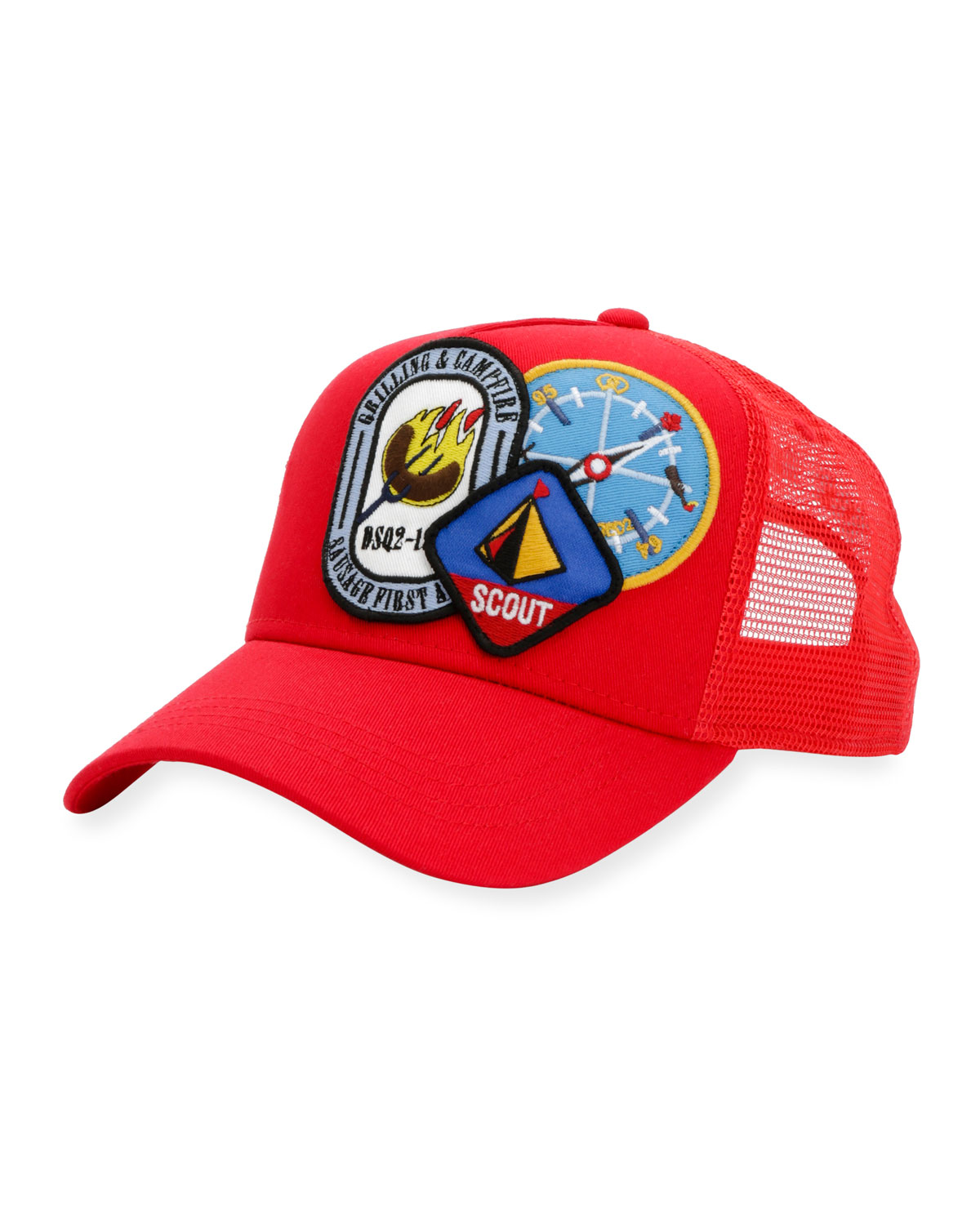 cfab9ffb9ee Dsquared2 Camp Patch Baseball Cap