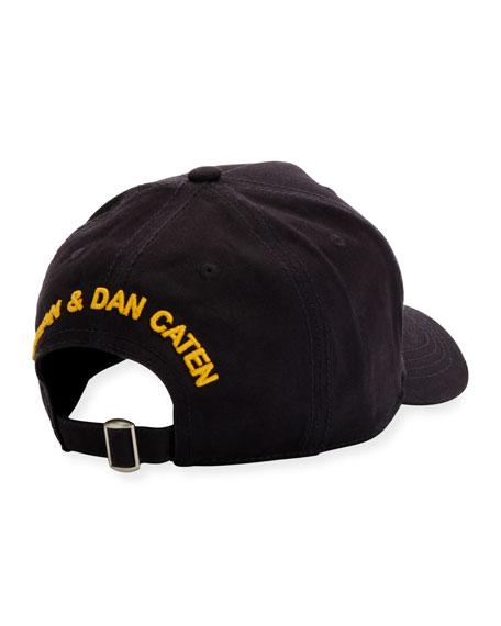 Logo Distressed Baseball Cap