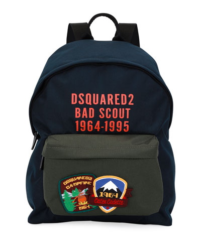 Bad Scout Patched Backpack