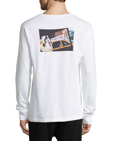 Taxi Graphic Long-Sleeve T-Shirt